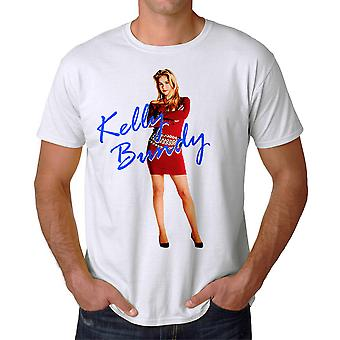 Married With Children Kelly Red Dress Men's White T-shirt