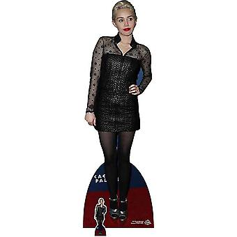 Miley Cyrus Black Dress Cardboard Cutout / Standee / Stand Up