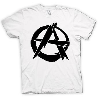 Camiseta mujer - anarquía - Punk
