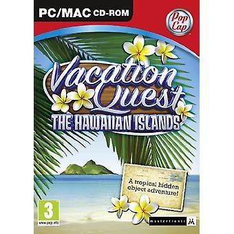 Vacation Quest Hawaiiöarna (PCMac DVD)-ny