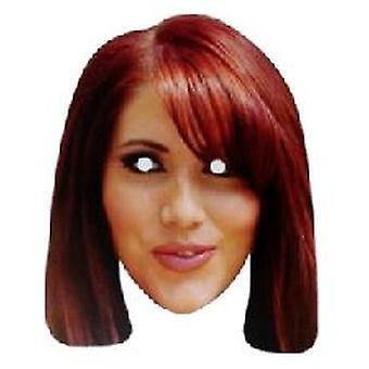 TOWIE stjärniga Amy Childs ansiktsmask