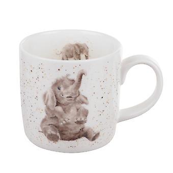 Royal Worcester Wrendale Role Models Elephant Single Mug