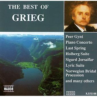 E. Grieg - importação EUA The Best de Grieg [CD]