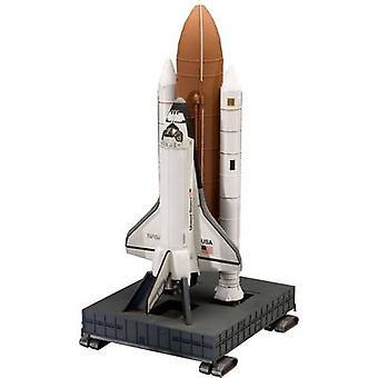 Revell 04736 مكوك الفضاء ديسكفري والداعم مجموعة تجميع المركبات الفضائية 1:144