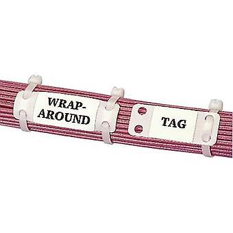 Monteringstyp för lead-markör: kabel slips skrivområde: 26,20 x 19 mm vit Panduit MP150-C MP150-C 1 st (s)
