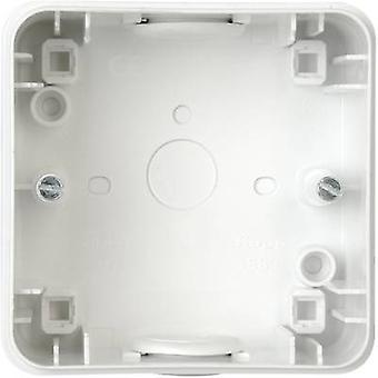 Kopp 356352013 Gama de productos de interruptordero de cuarto húmedo Accesorios Carcasa de montaje en superficie Arktis White