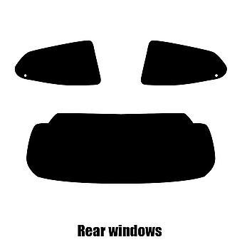 Pre cut window tint - Toyota Aygo 5-door Hatchback - 2014 and newer - Rear windows