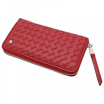 Abro Luxurious Woven Leather Purse
