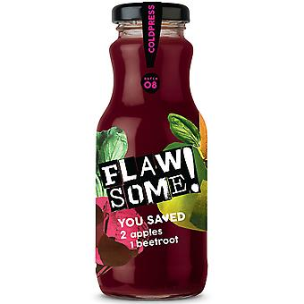 Flawsome! Apple & Beetroot Cold Pressed Juice