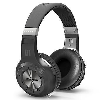 Bluedio HT Στροβιλοασύρματα στερεοφωνικά ακουστικά Bluetooth-μαύρο