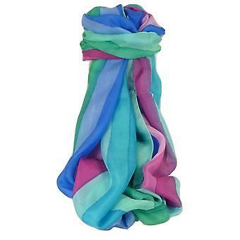 Amoreira cachecol longo clássico Amre arco-íris paleta por Pashmina & seda