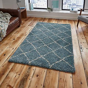 Royal Nomadic 5413 Rugs In Teal Champagne