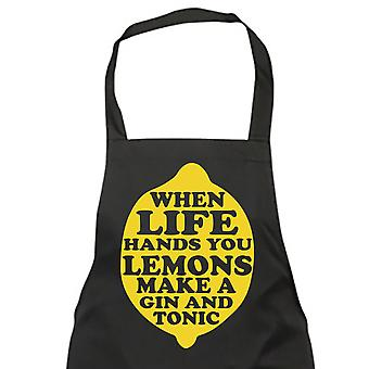 When Life Gives You Lemons Make a Gin and Tonic Apron