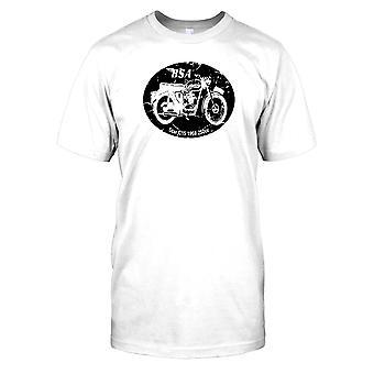 BSA - stjärnigt C15 1958 - 250cc Classic Bike Mens T Shirt