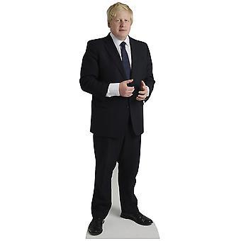 Boris Johnson Lifesize pahvi automaattikatkaisin / seisoja