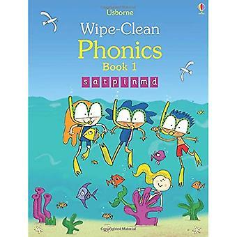Wipe-Clean Phonics: Book 1 (Wipe Clean Books)