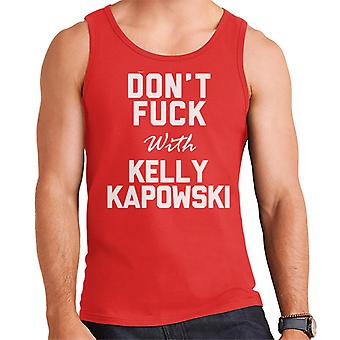 Dont Fuck With Kelly Kapowski Men's Vest
