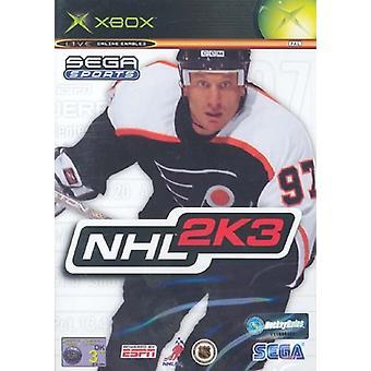 NHL 2K3 (Xbox) - New