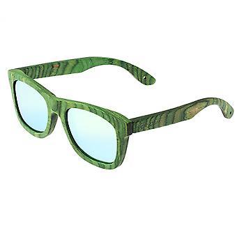 Spectrum Slater Wood Polarized Sunglasses - Green/Green