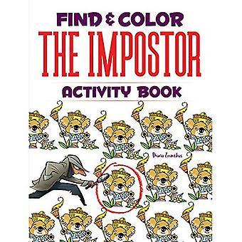 Znajdź & kolor zeszyt oszust