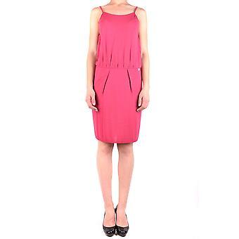 Liu Jo Ezbc086019 Women's Fuchsia Acrylic Dress