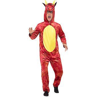 Deluxe Drachen Overall Herren Kostüm Dragon Costume