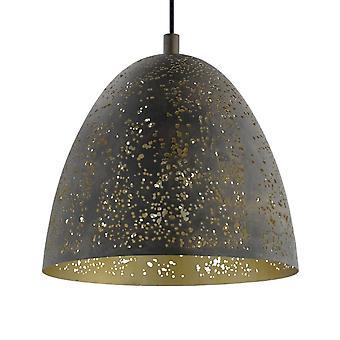 EGLO Safi guld och brun hänge ljus