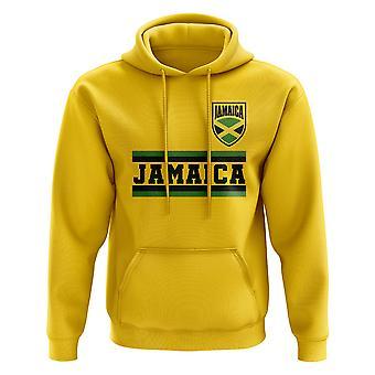جامايكا كور كرة قدم بلد [هودي] (أصفر)
