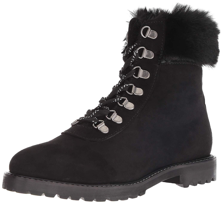 Kenneth Cole reakcji kobiet szlak Bootie koronki Up z imitacji futra obuwie za kostkę.