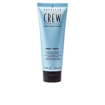 American Crew Fiber crema fibrosa crema tenuta media lucentezza naturale 100 Ml Unisex