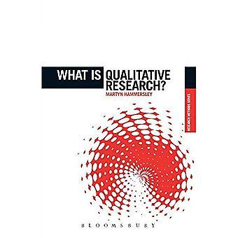 ¿Qué es investigación cualitativa?