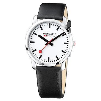 Mondaine A638.30350.11SBB Simply Elegant Heren Horloge
