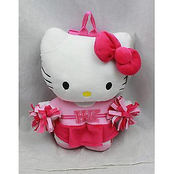 Plush Backpack - Hello Kitty - Cheer Leader Squad New Soft Doll Toys 68433