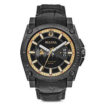 Bulova Limited Edition Precisionist GRAMMYs Black Dial Quartz Mens Watch 98B293