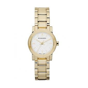 Burberry Bu9203 Women's Gold Ion Plated Stainless Steel Bracelet Watch