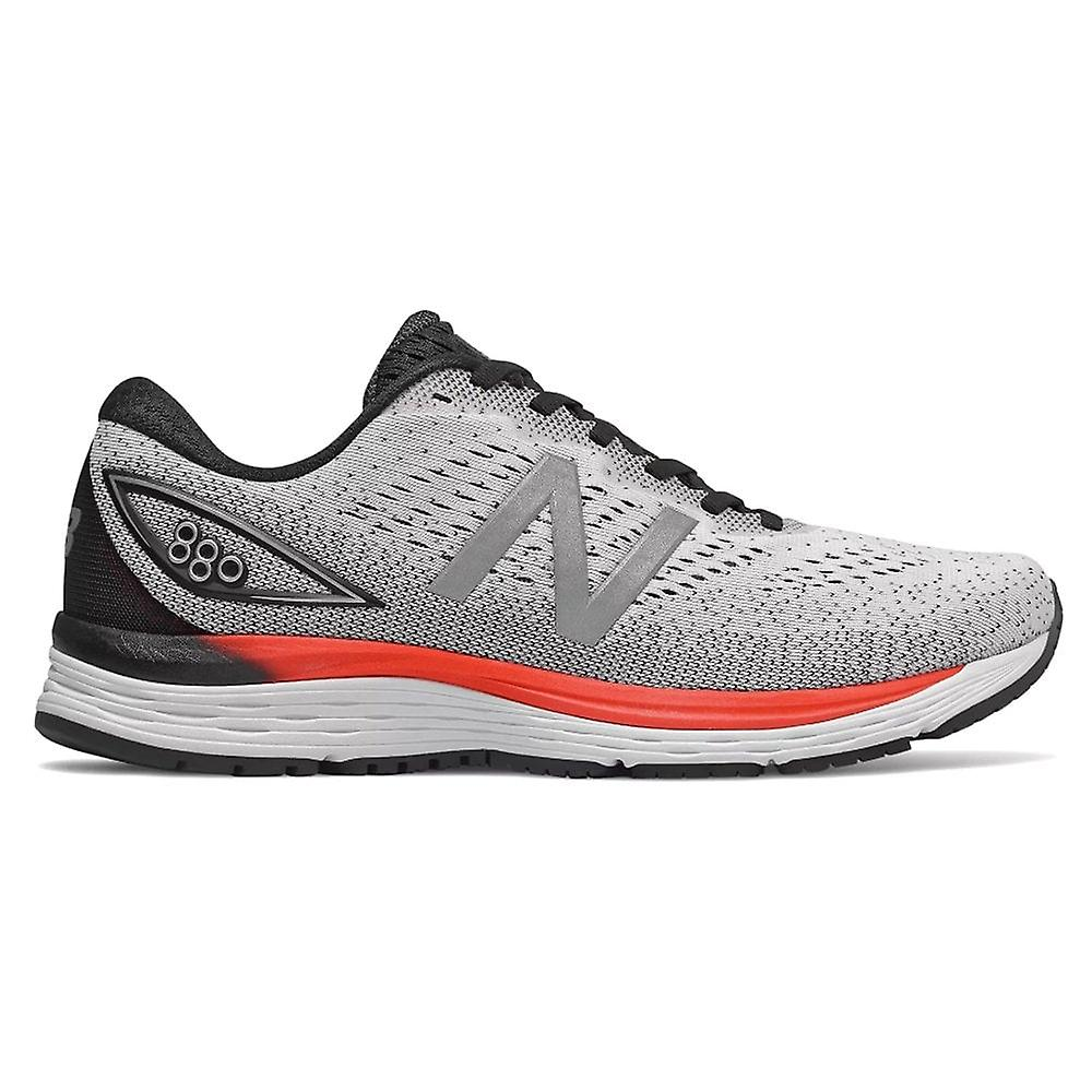 New Balance 880v9 Mens 2e Width (wide) High Cushioning 10mm Drop Road Running Shoes White