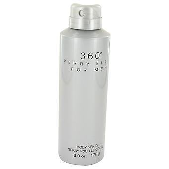 Perry ellis 360 body spray by perry ellis   533492 200 ml
