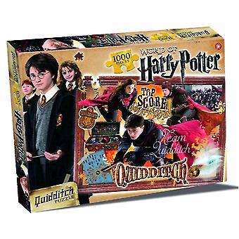 Harry Potter Quidditch 1000 brik puslespil