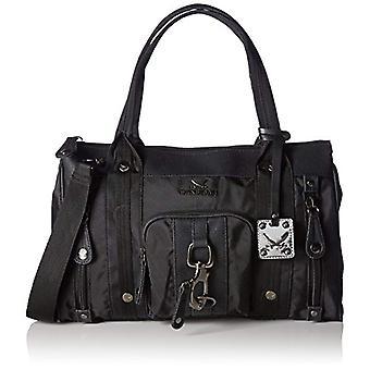 SansibarSansibar - Black Woman Handle Bag (black 01)) 40x24x15 cm (B x H x T)