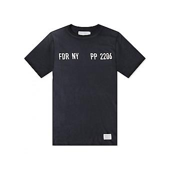 Replay Jeans Replay Sportlab T Shirt Dark Grey