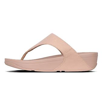 Fitflop™ Lulu™ Shimmerlux Top Post Rose