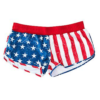 USA Patriotic Women's Beach Shorts