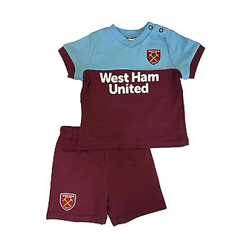 West Ham United baby/peuter kit T-shirt & shorts set | seizoen 2019/20