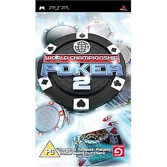 World Championship Poker 2 (PSP)-fabriken förseglad