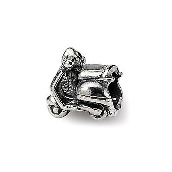 925 Sterling Silver Reflections SimStars Kids Scooter Bead Charm Pendant Necklace Jewelry Gifts for Women