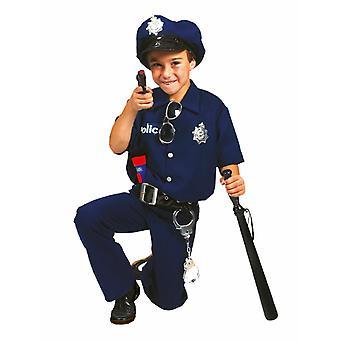 Good Cop Kinder kostuum carnaval politieagent kostuum wet keeper carnaval kinderen