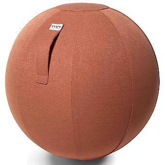 Vluv sova tecido bola de assento diâmetro 60-65 cm salmão
