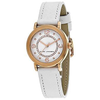 Marc Jacobs Women's Riley White Dial Watch - MJ1618