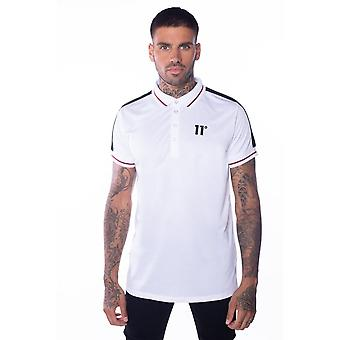 11 Degrees Eagle Polo Shirt White