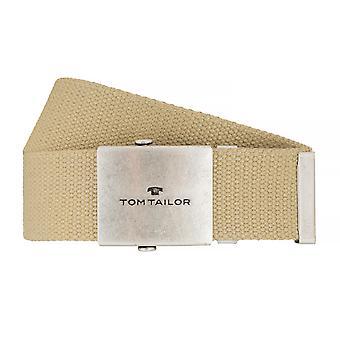 TOM TAILOR Gürtel Textilgürtel Herrengürtel Jeansgürtel Natur 7610